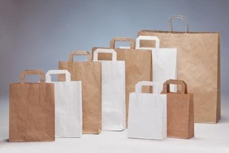 Tragetaschen und Verpackung