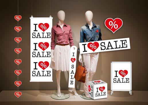 Plakate und Verkaufsförderung