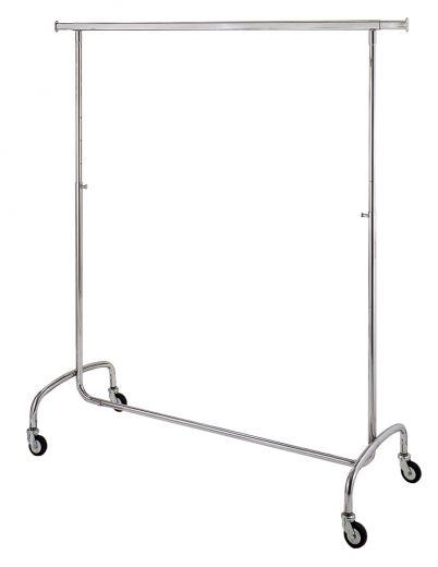 Konfektionsständer-Rollständer 140cm, höhenverstellbar