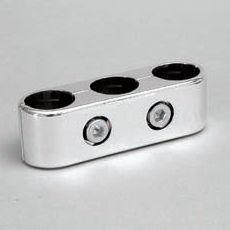 Brillant 3-Rohr Parallelerbinder für Rundrohr 25mm