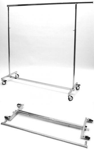 Konfektionsständer-Rollständer, faltbar