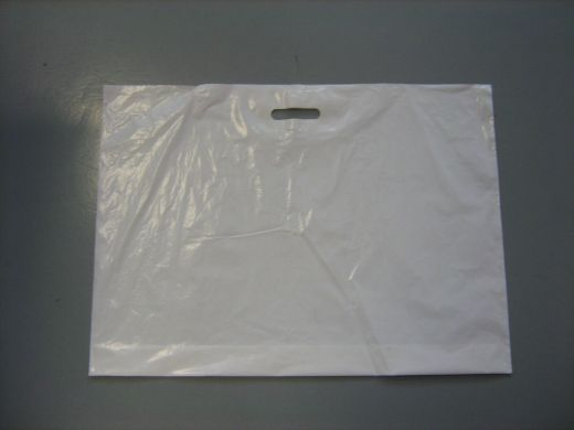 Tragetasche Weiß 70x50cm