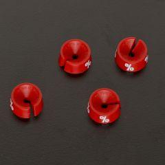 Größenreiter Reduziert rot