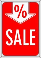 Plakat Karton DIN A4 Sale %