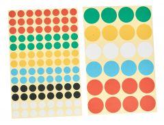 Markierungspunkte 18mm farbig gemischt
